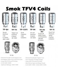 SMOK TFV4 ανταλλακτικές αντιστάσεις