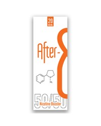After 8 Nicotine Booster 10ml 50PG/50VG