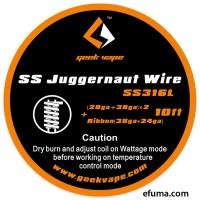 GeekVape Juggernaut wire SS316
